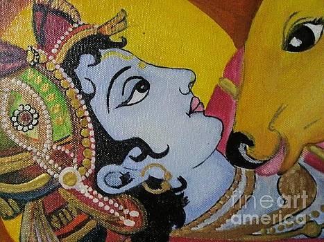 Rekha Artz - Krishna Mural