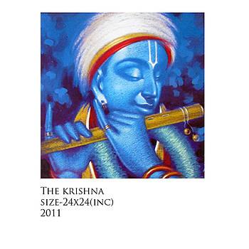 Krishna by Santu Saha