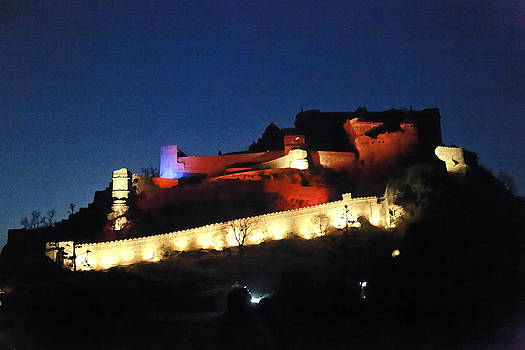 Kantilal Patel - Kumbhalghar Fort after Dark