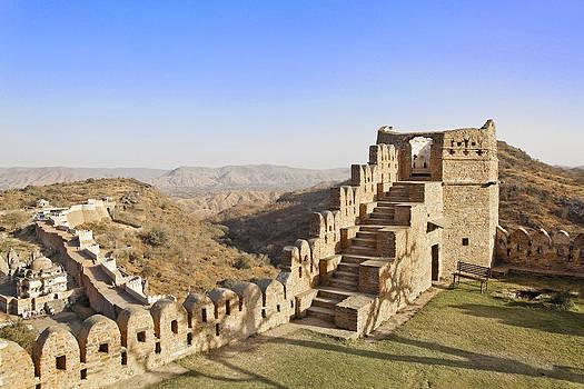 Kantilal Patel - Kumbhalghar Fort Delapidated Tower