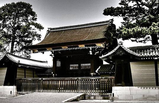 Kyoto Gosho by Juergen Weiss