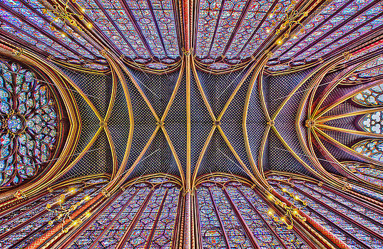 La Sainte-Chapelle by Stephanie Benjamin