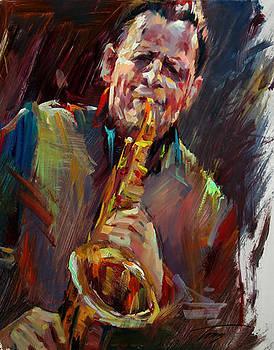 LA Street Musician by Tony Song