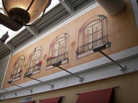La Tasca Mural Inner Harbor Baltimore Md by Matt Mercer