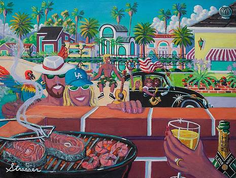 Labor Day Venice Style by Frank Strasser