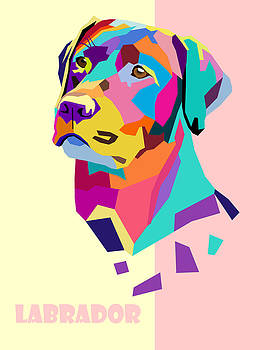 Labrador Portrait by Jim Bryson