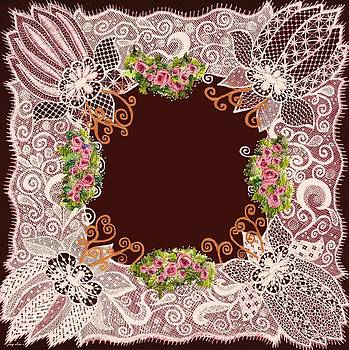 Lace-N-Roses Matting by Jenny Elaine