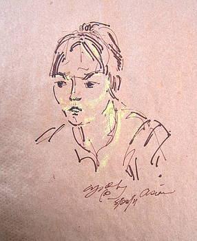 Lady Bug by Nancy  Wood