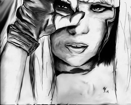 Lady Gaga by Crystal Webb