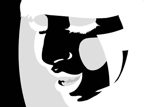 Michelle Cruz - Lady Gaga in Black and White