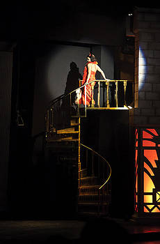 Kantilal Patel - Lady glides Spiral Stair Case