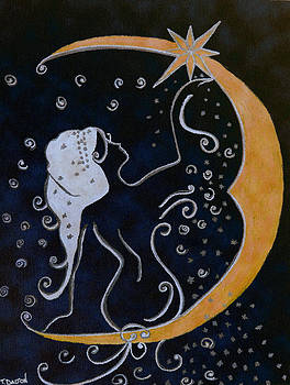 Lady in the Moon1 by Traci Dalton