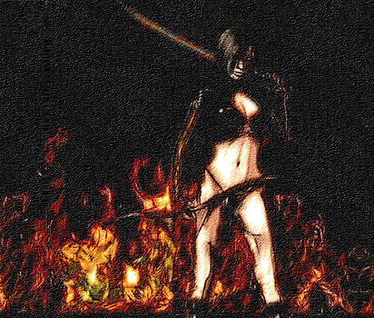 Lady Warrior by Tyejuan Johnson
