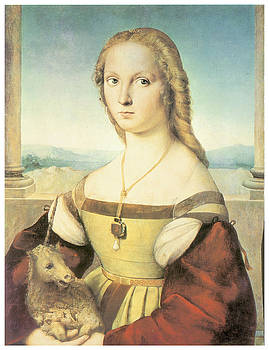 Raffaello Sanzio - Lady With a Unicorn
