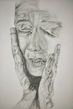 Lady with Hands by Glenn Calloway