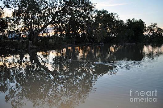 Lagoon At Dusk by Joanne Kocwin
