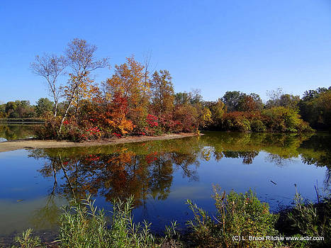 Lake Chipican in October by Bruce Ritchie