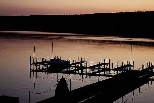 Lake Evening by Jaime  Manning