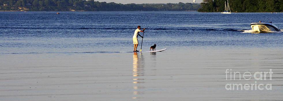 Lake Mendota Summer Days by Valerie Hesslink