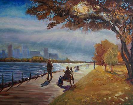 Lake Ontario afternoon by Efim Melnik
