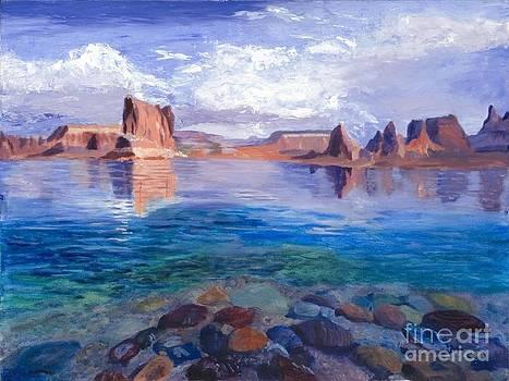 Lake Powell by Marlene Petersen