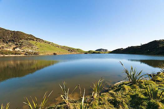 Lake Reflection by Graeme Knox