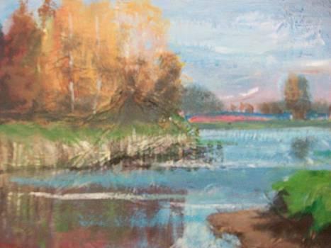 Lake Scene by Chloe  Mitchard