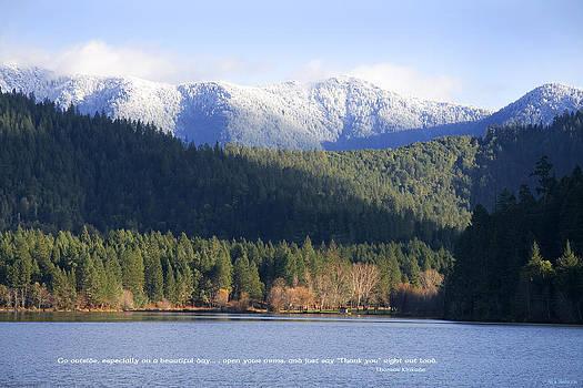 Mick Anderson - Lake Selmac and the Siskiyou Mountains