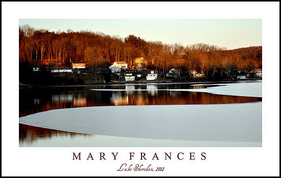 Mary Frances - Lake Sheridan 2012