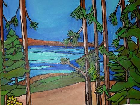 Lake Tahoe View by Michelle Gonzalez