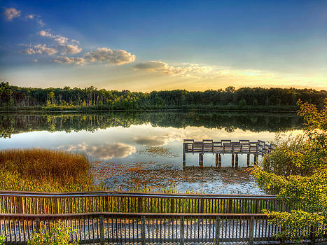 Lake View Dock Side by Jenny Ellen Photography