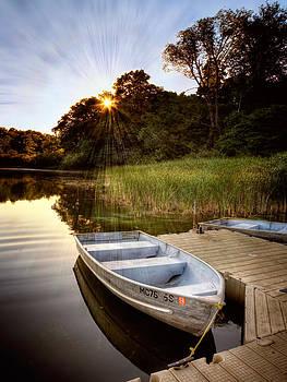 Lake View Shoreline. Mono by Jenny Ellen Photography