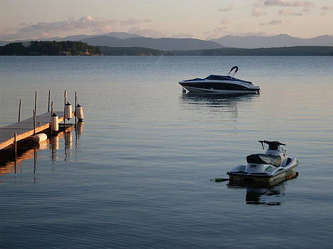 Lake Winnipesaukee by Lisa Lamir