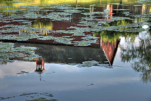 Lake Lillinonah Reflections by David Clark