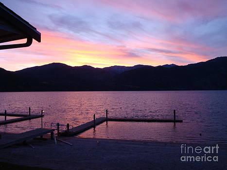 LakeChelanSunset by Inna Jasons