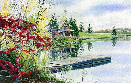 Hanne Lore Koehler - Lakeside Gazebo