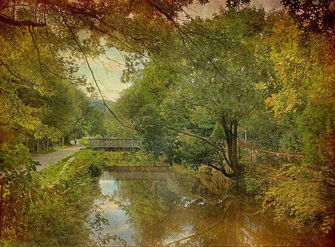 Lambertville Towpath by Pat Abbott