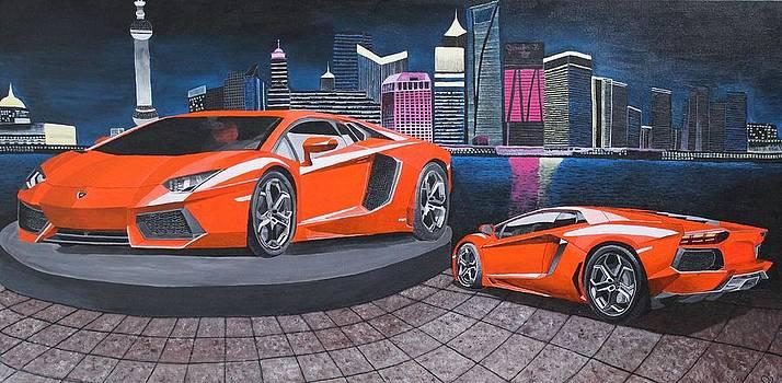 Lamborghini Aventador by Jennifer Hayes