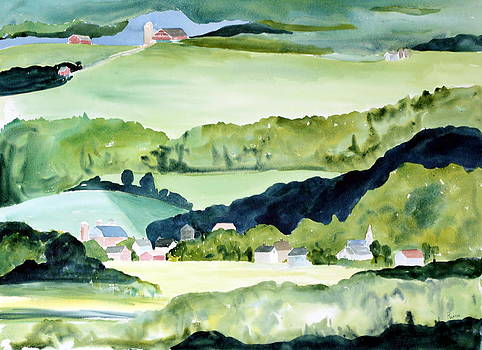 Lamoile River Valley by Rachel Dutton