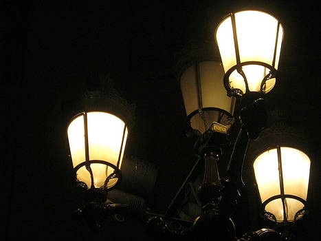 Lamps in Nice by James McGuine