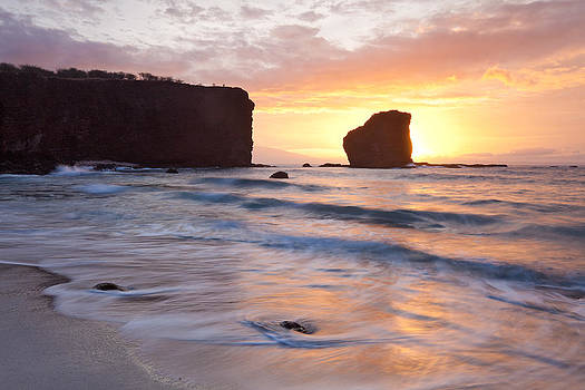 Lanai Sunrise Hawaii by Monica and Michael Sweet