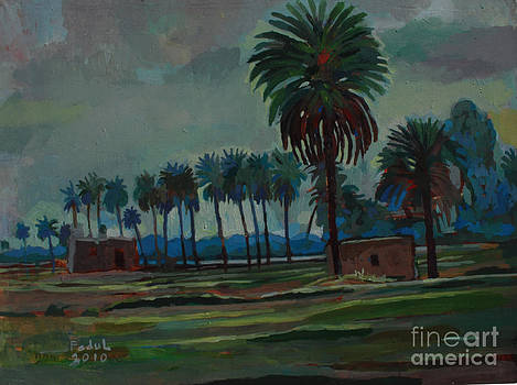 Land of palm and Neil by Mohamed Fadul