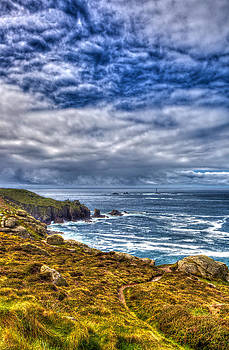 Lands End and Longships by Mike Gorton