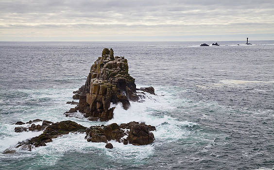 Lands End Cornwall England by Mikhail Lavrenov