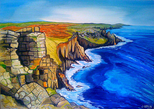 Lands End Cornwall by Jonathan Kania