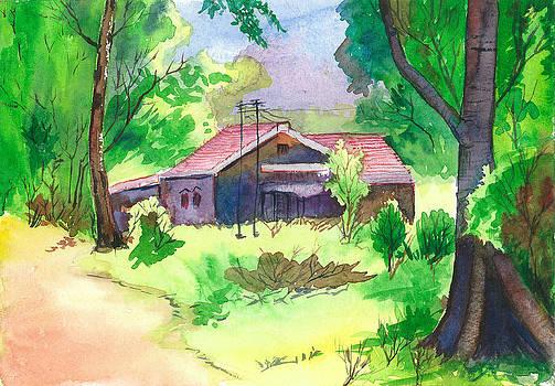 Landsape by Vijayendra Bapte