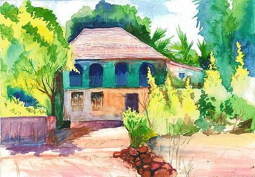 Landscape at Konkan 2 by Vijayendra Bapte