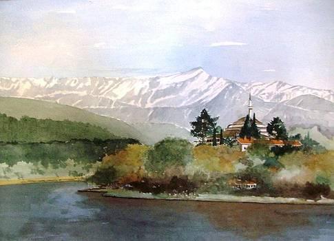 Landscape-Ioanina by Samir Sokhn