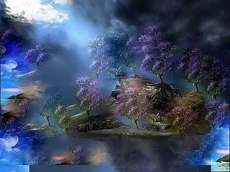 Landscape by Lilioara Macovei