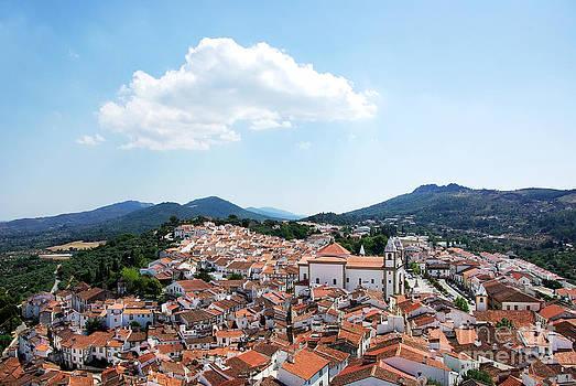 Landscape of Castelo de vide village by Inacio Pires